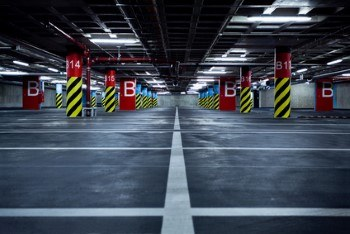 parking garage cleaning services